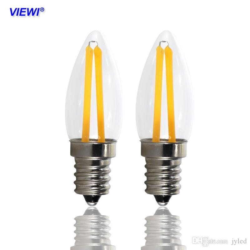 acheter ampoule led e12 filament bougie lumière mini ampoule lampe