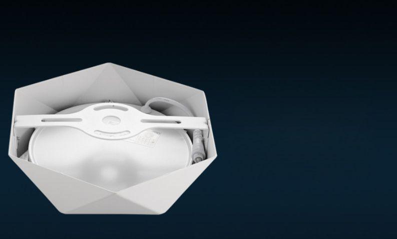HKOSM Ultra-ince 6 W / 18 W / 24 W / 32 W Elmas Kare Panel LED Alüminyum LED SPOT Işık Yüzeye Monte Downlight tavan aşağı lamba