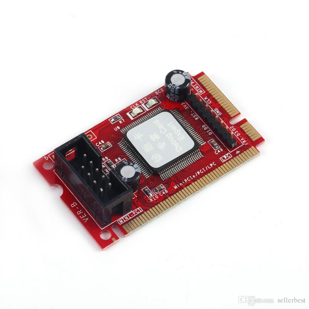 Post Card PCI-E PC PCI Diagnostic Test PC Tester Debug Card Host For Laptop Desktop