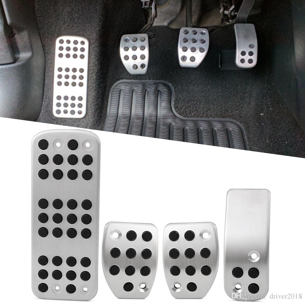 Car Pedals Mt Accelerator Brake Foot Rest Pedal Pad Sticker For Peugeot   For Citroen From Driver Dhgate Com