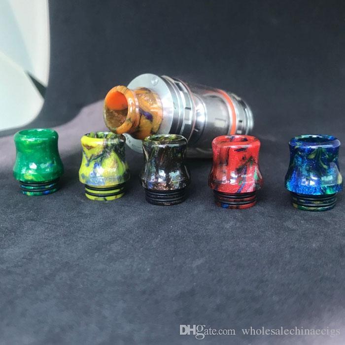 Résine époxy Résine 810 Drip Astuce coloré Résine Large alésage gouttes conseils pour TFV8 TFV12 Atomiseurs Réservoir Kennedy 24 RDA Mods RBA