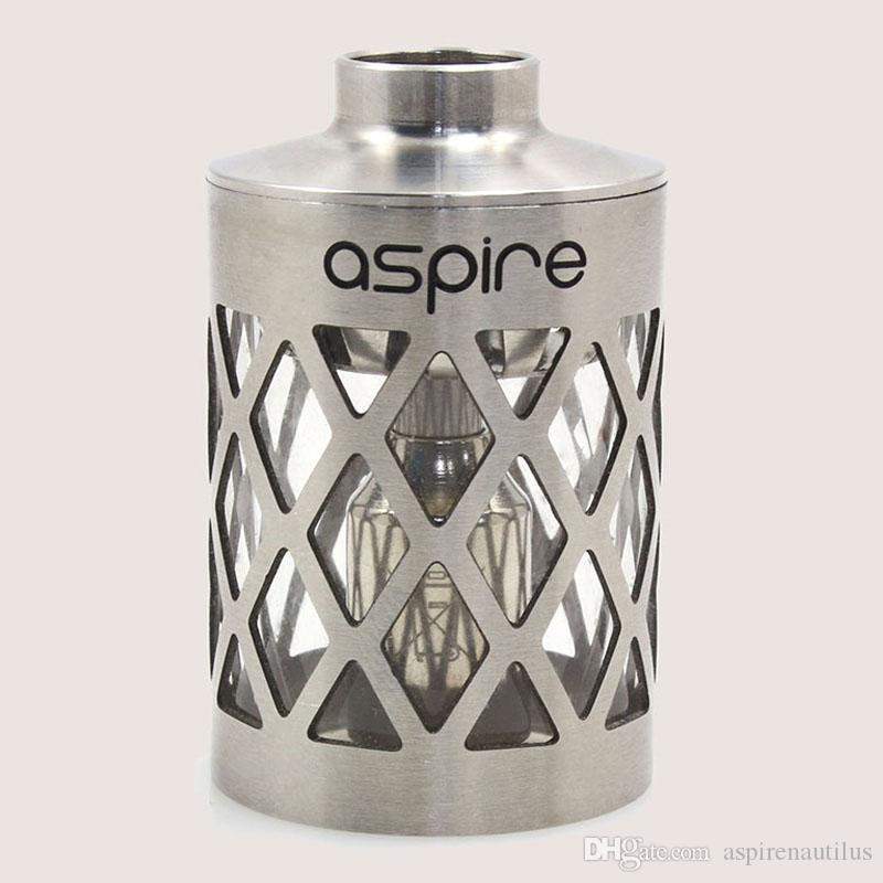 100% Original 5 ML Aspire Nautilus oco-out Tanque de Substituição Da Luva Fluxo de Ar Ajustável Nautilus Tanque Oco Inoxidável Quente