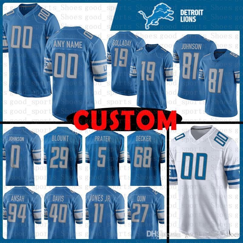 hot sale online c15d2 8012a best price kids elite anthony zettel 69 detroit lions jersey ...