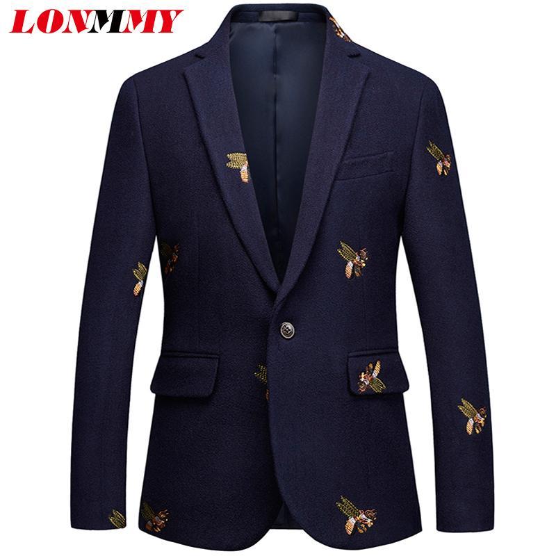 LONMMY PLUS SIZE 5XL 6XL Tuxedos Suit Mens Blazer Jacket Slim Fit Casual  Blazer Masculino Men Clothes Formal Men Stage Blazers Cheap Blazers LONMMY  PLUS ... 154dc982a317