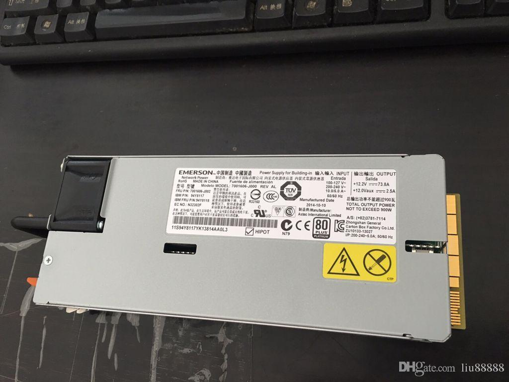 Original Power Supply For IBM X3550 X3650M4 900W 94Y8117 94Y8118 7001676 J002 Computer Adapter Electric From Liu88888