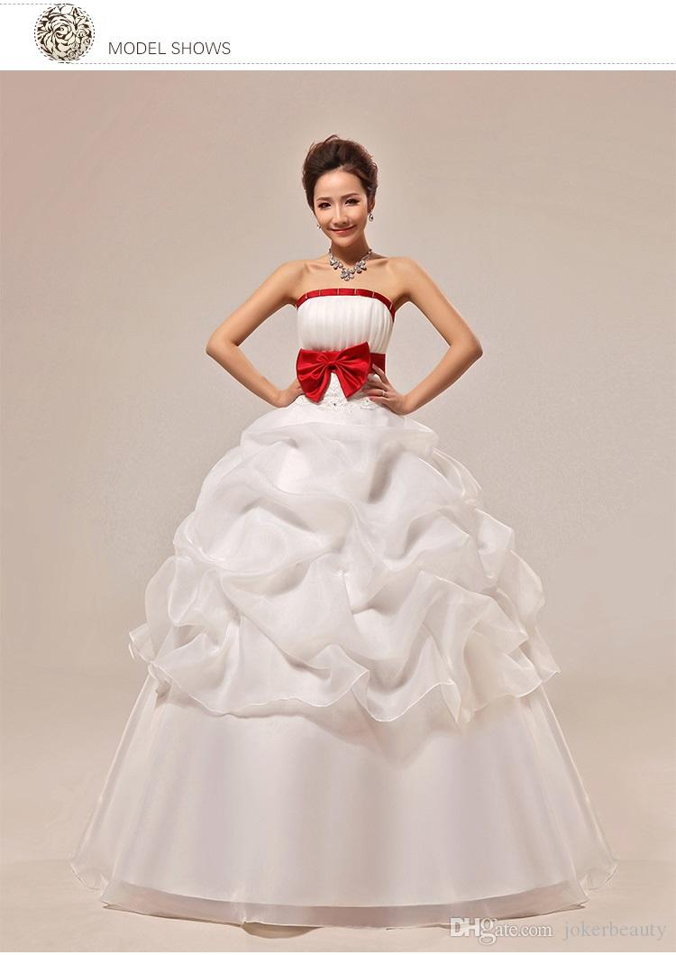 New Arrival Fast Ship A Line Bridal Gown Sweetheart Beading White / Ivory Wedding Dresses