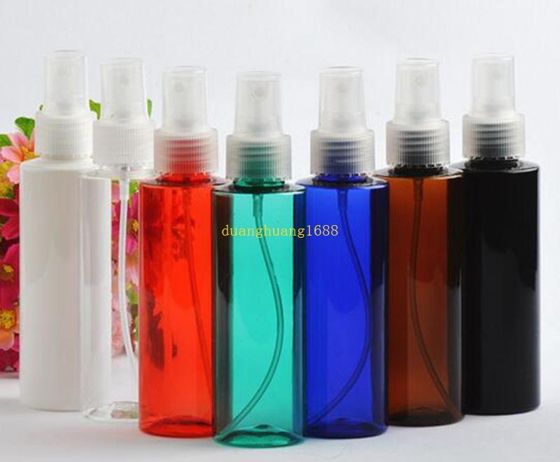 Compre 120 Ml Transparente Ombro Liso Spray Garrafa Fina Névoa