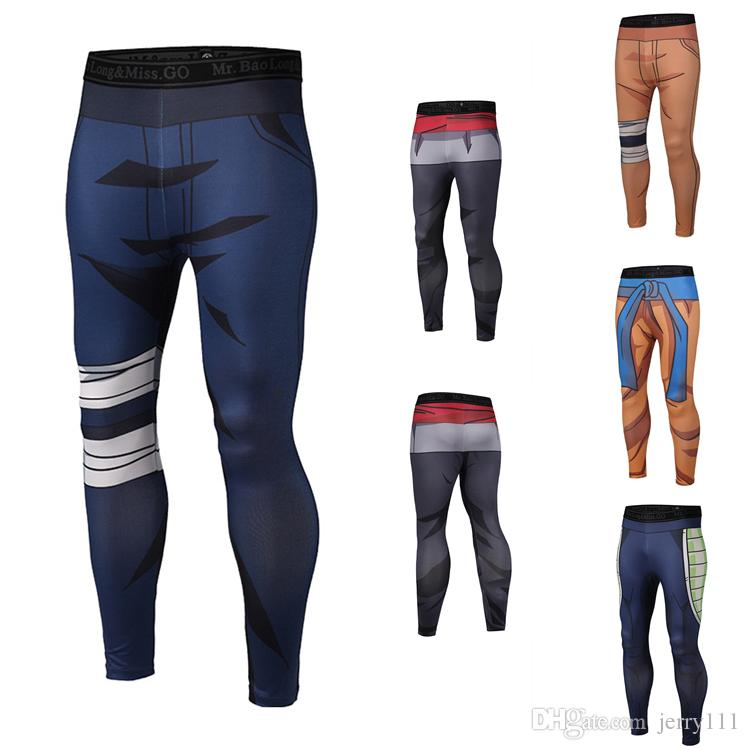 aa974224e7 Student Mens Sport Pants Mens Joggers Pants 9 Designs 3D Printing Naruto  Dragon Ball Mens Yoga Pants LA691 Boy Shorts Bikini Dress Shorts For Boys  From ...