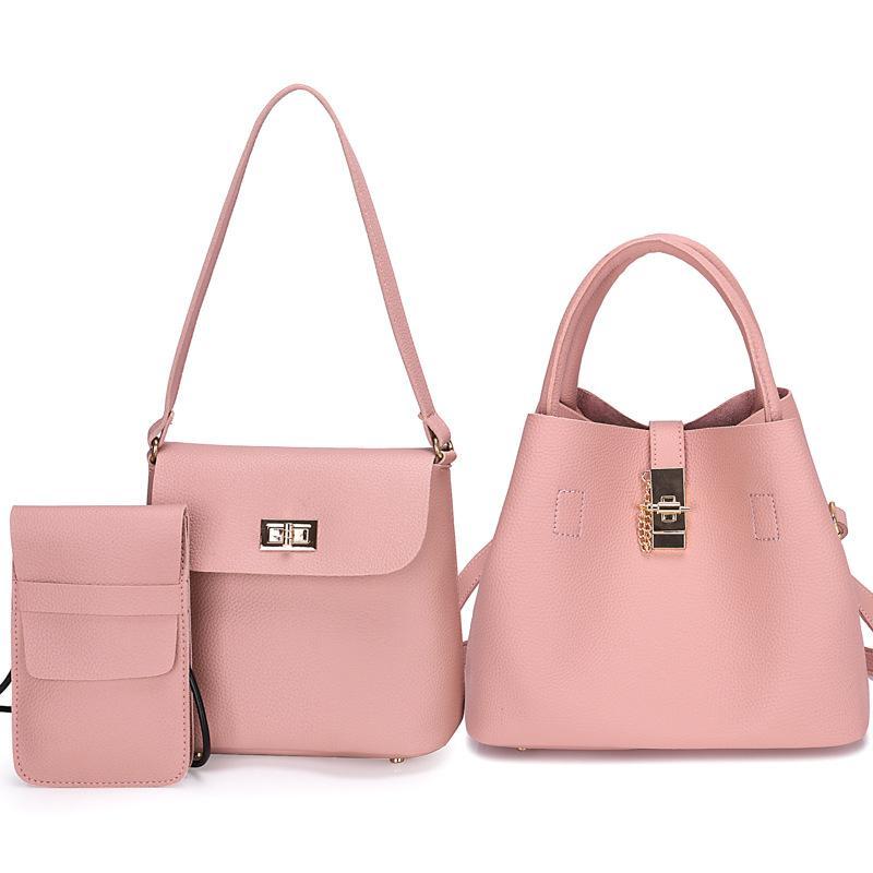 71d4a5d20ec8 SGARR Fashion Women PU Leather Handbags Shoulder Bag Small New Casual  Female Tote Bags High Quality 3 Pieces Set Crossbody Bag