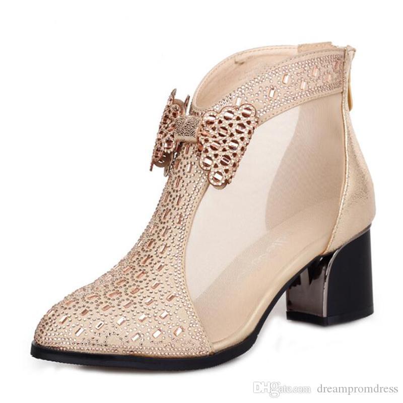 Arco Granadina Botas De Boda Zapatos Compre Recortes Mujer 8w60Z0