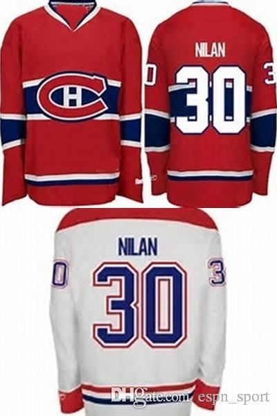 1aaad481 2019 Hot Sale Mens Cheap Montreal Canadiens 30 Chris Nilan Best Quality  100% Embroidery Logo Ice Hockey Jerseys Accept Size S 3XL From Espn_sport,  ...