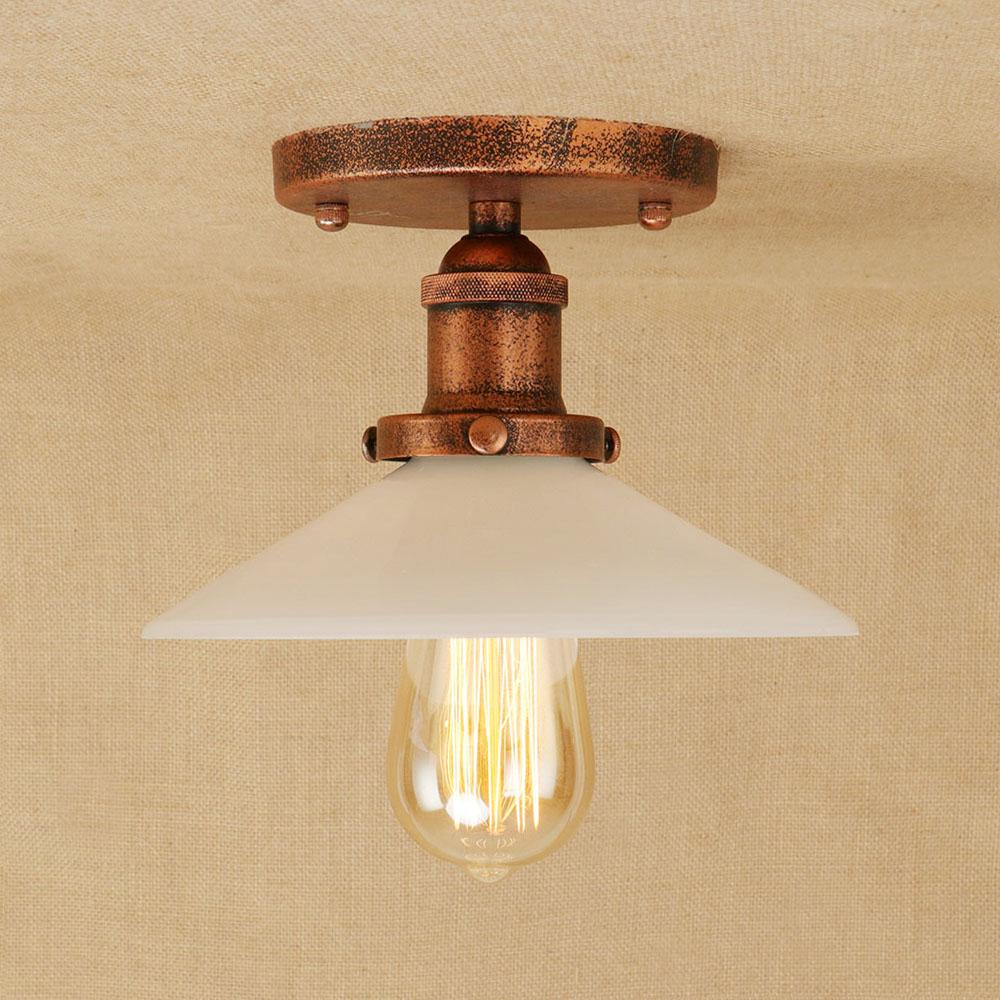 2019 american vintage industrial ceiling lamp led iron ceiling light home lighting fixtures bedroom living room lamps from cornelius 80 87 dhgate com