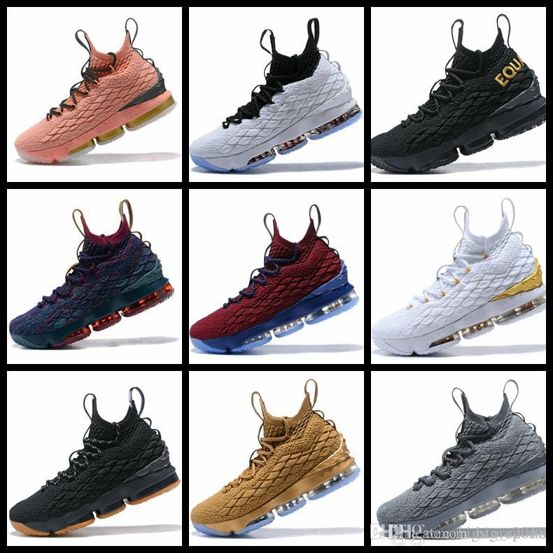 44bb0c08958 2018 New Ashes Ghost Floral Equality 15 Basketball Shoes Designer Men White  Lebrons Sneaker 15s Mens Sports Shoes James 15 Off Sneakers Mens Shoes ...