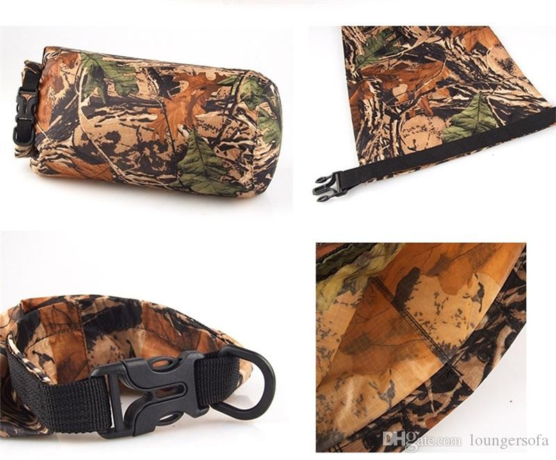 Camouflage Color Waterproof Bag Convenient For Carry Multifunctional Storage Package 8L Outdoors Drifting Gadgets High Quality 13jy X