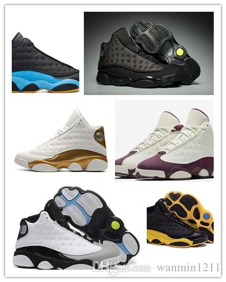 8800ae7dbd6e 13 XIII Mens Basketball Shoes GS Love Respect Black White DMP All Star  Chutney Low 2018 13s Green Women Sneakers Drop US5.5 13 Shoes Sneakers  Jordans Shoes ...