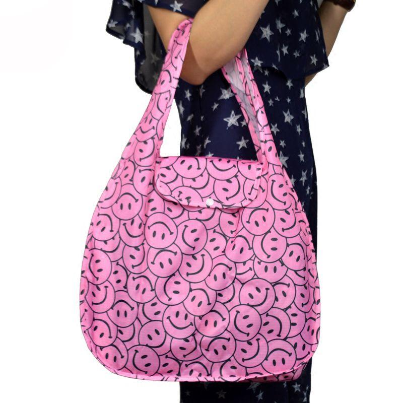 Soft Foldable Tote Large Capacity Women Shopping Bag Ladies Daily Use Handbags Casual Beach Bag Tote WUSL49