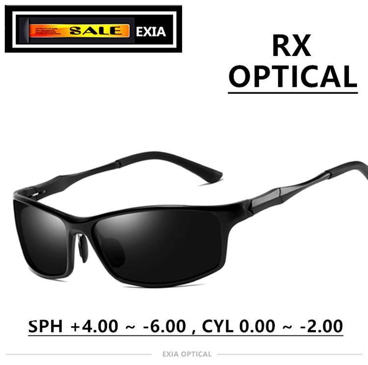 3f42cef3ae Compre Gafas De Sol Polarizadas Lentes Ópticas Recetadas Gafas RX Lentes  Oftalmológicas CR 39 Personalizadas Serie EXIA OPTICAL KD 117 A $140.6 Del  ...