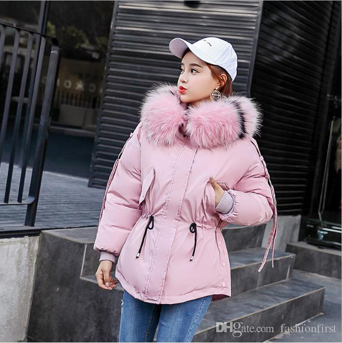 eaf8b63f7fd 2019 Newest Winter Women Plus Size Clothing Jacket Parka With Hooded Fur  Collar Windbreaker Coats And Jackets Woman Puffer Jacket Short Parka From  ...