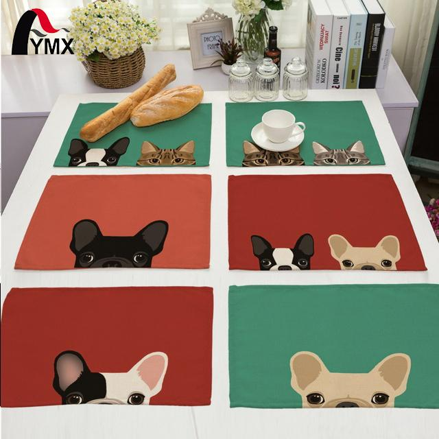 Cute Dog Table Napkin For Wedding Supplies Party Decoration Kids Cartoon Birthday Decoration Napkins On The Table Servette Home Textile Home & Garden