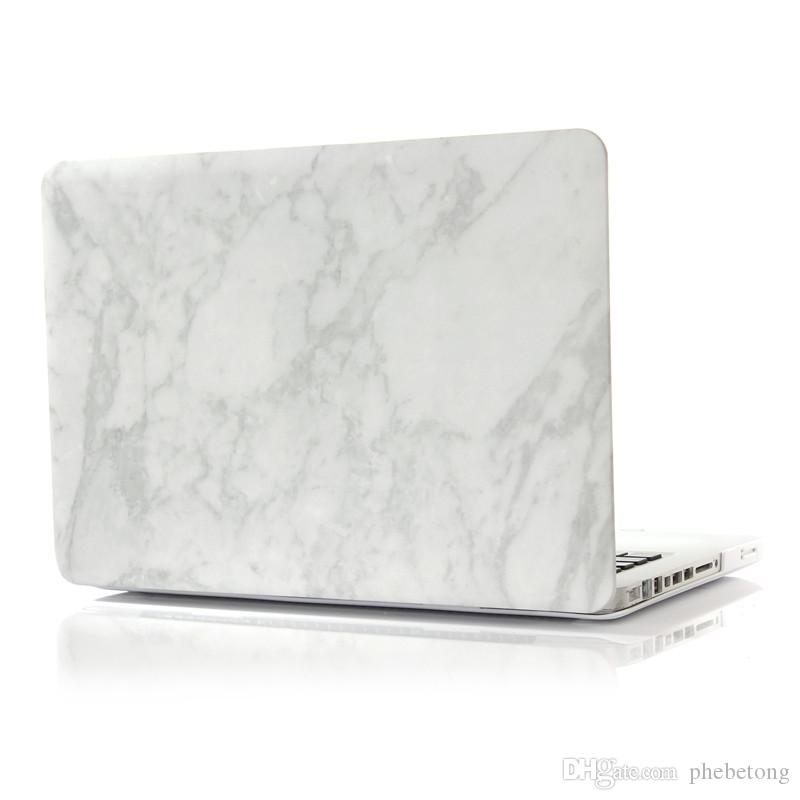 Hot vente Macbook Air 13 Pro 15 cas de marbre coque de protection en plastique dur pour le nouveau Macbook Retina
