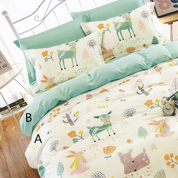 2018 160cm*50cm Rabbit Deer Infant Baby Cotton Fabric Bed Sheets Duvet  Cover Bed Linens Pillow Kids Fabric For Sewing Qulit Tissues From  Xiamen2013, ...
