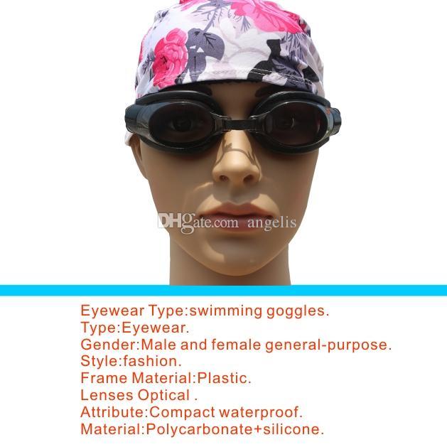 Мода новые взрослые дети плавательный очки плавательные очки + беруши + нос клип, водонепроницаемый, анти туман. 5 цветов.