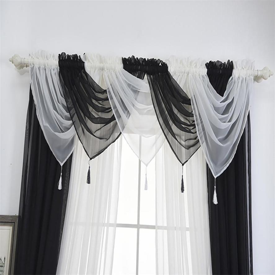 nice Voile Valance Part - 4: Ouneed 45*45cm Fashion Modern Voile Curtain Swags All Colours Pelmet Valance  Net Curtains Voile Swag Curtain Voile Voile Curtains Fashion Curtain Online  ...