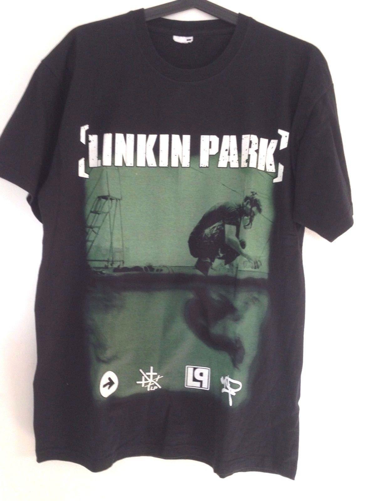 71b3f0941 Rare Linkin Park Meteora T Shirt Black Men S Size L Clothing Chester  Bennington Best Sites For T Shirts Tee Shirt Deals From Yuxin04