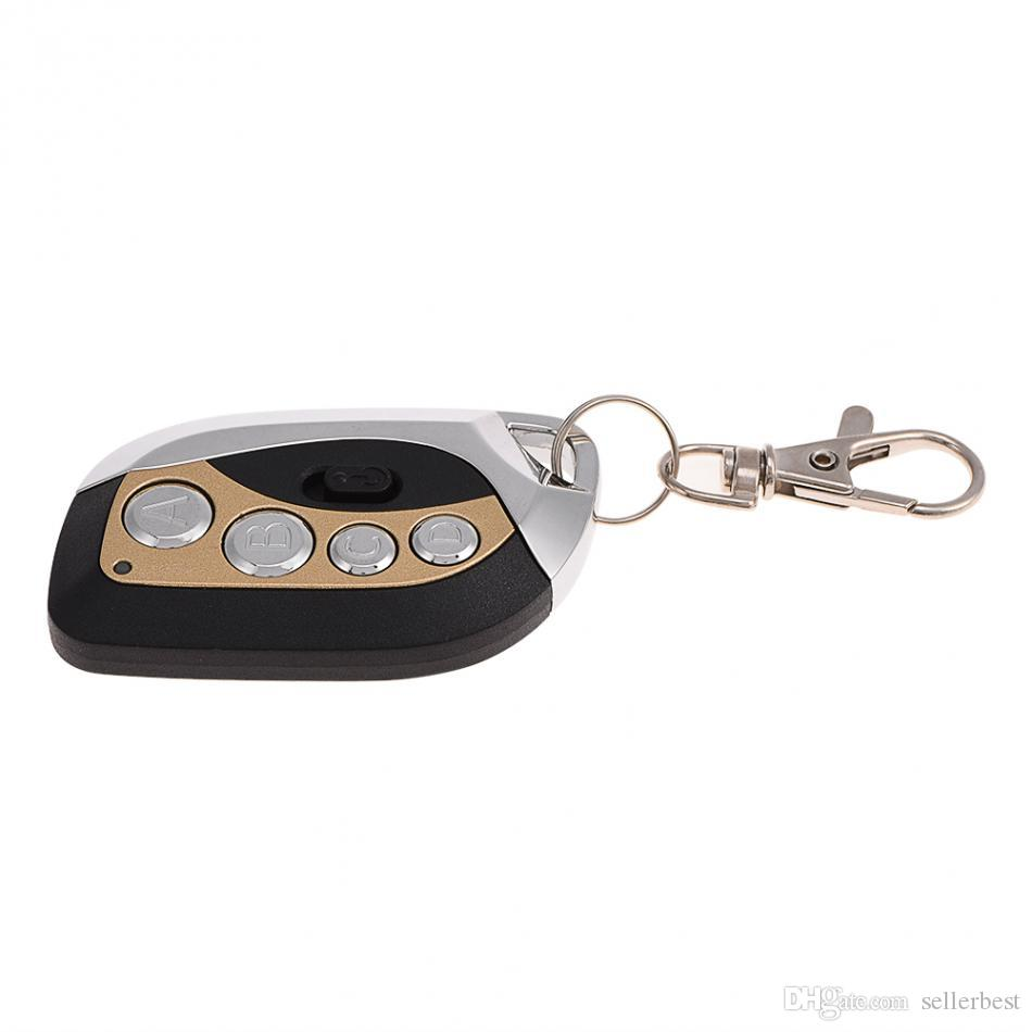 GV608 Mini telecomando a 4 canali RF telecomando 315 433 MHz Universal Car Gate Garage Door Telecomando Duplicatore Key Fob