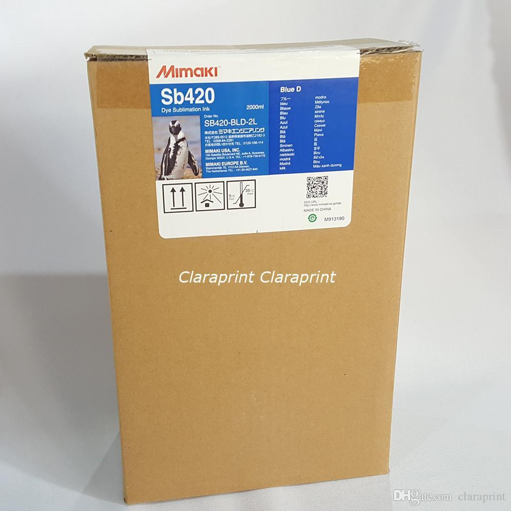 4 color/set Original Mimaki SB420 Dye Sublimation Ink for JV150 CJV300  TS300P-1800 TS34 JV34 Printers 2000ml