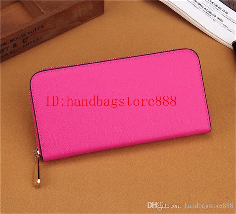 Sıcak satış ve toptan moda bayan tek fermuar ucuz cüzdan kadın pu deri tasarımcısı cüzdan bayan bayanlar uzun çanta