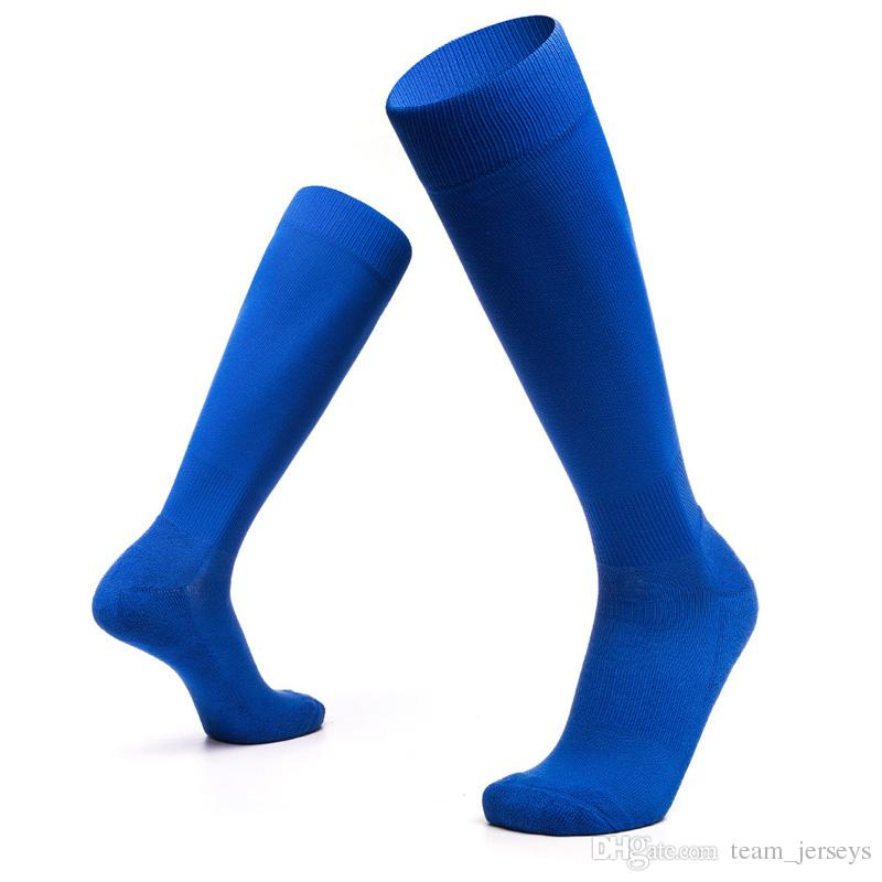 World Cup Russia 2018 Soccer Socks Stockings Adult Thick Non-slip Over Knee Men's Women's One Free Size Training Exercise Socks High Quality
