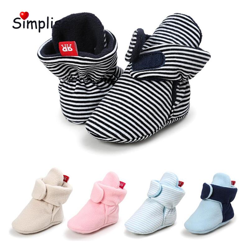 98c2eae1c26bf Newborn Baby Winter Walking Boots For 0 18 Moths Girls Boys First Walkers  Soft Sole Anti Slip Infantil Botas Infant Floor Shoes Cowboy Boots For  Toddler ...