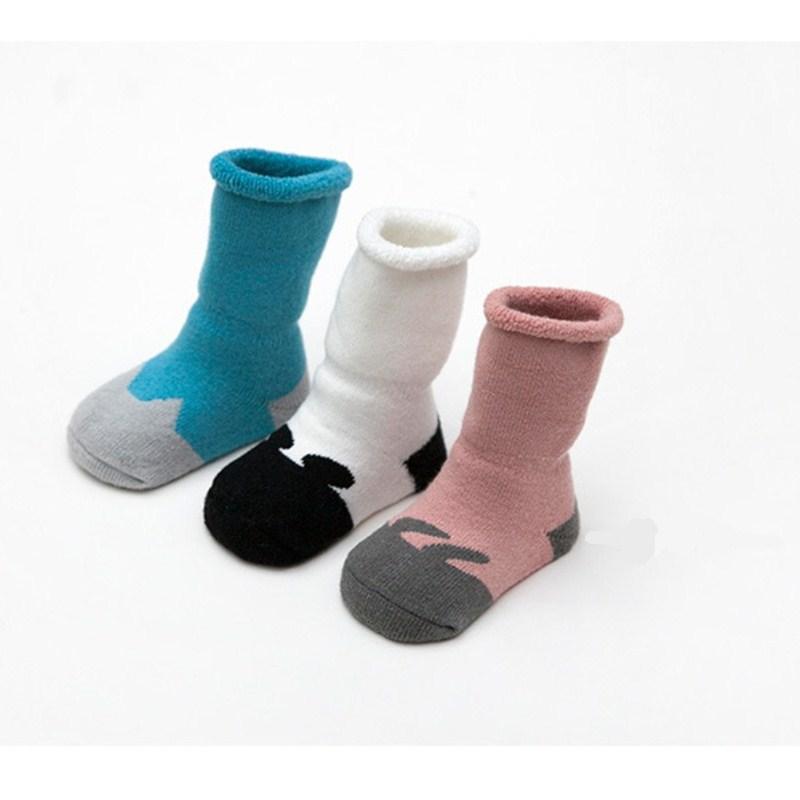 Baby Soft Socks Cotton Warm Winter Cartoon Socks For Newborn Baby