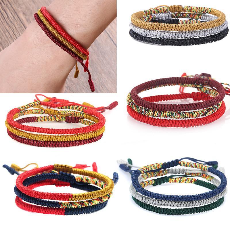 02a94e72cb Adjustable 2018 New Arrival Tibetan Buddhist Love Lucky Charm Tibetan  Bracelet Women Men Allergy Free Handmade Pearl Charm Bracelet Silver Charm  Bracelets ...