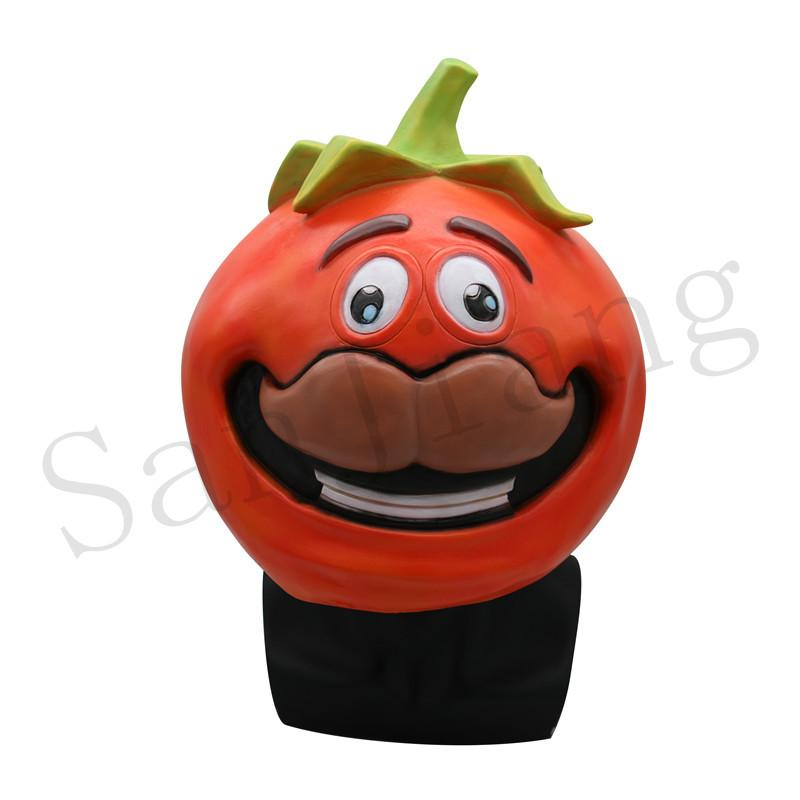 2019 Game Fortnite Tomato Mask Children S Adult Halloween Party