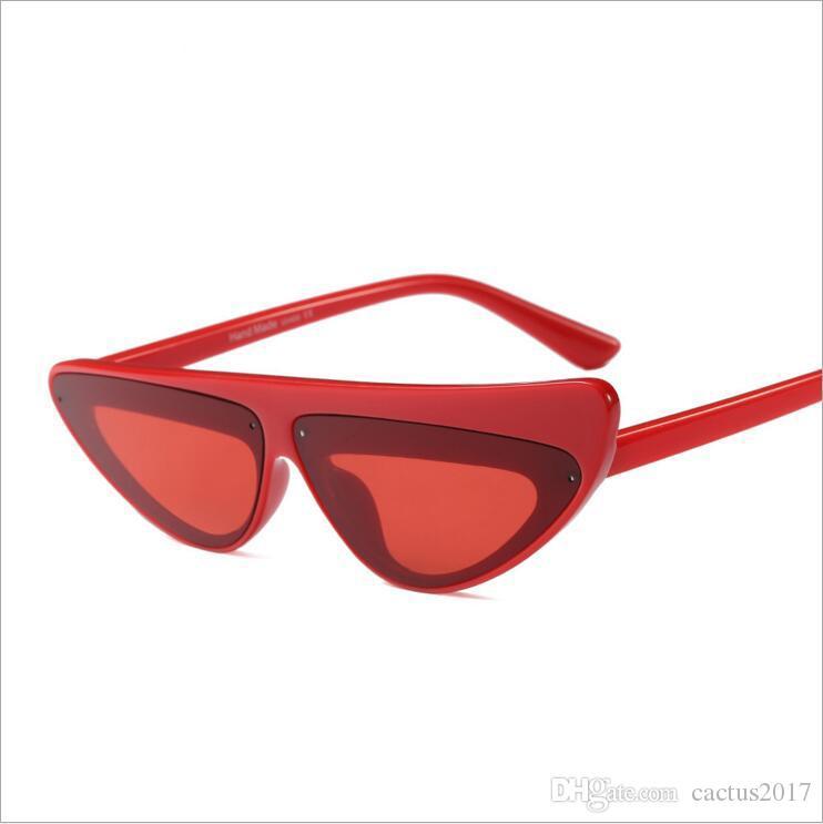 Uv400 Asymétrie Noir Oculos Lunettes De Cadre Femme Cateye Ombre Mode Eye Soleil Vintage Cat Femmes dCBthrsQx