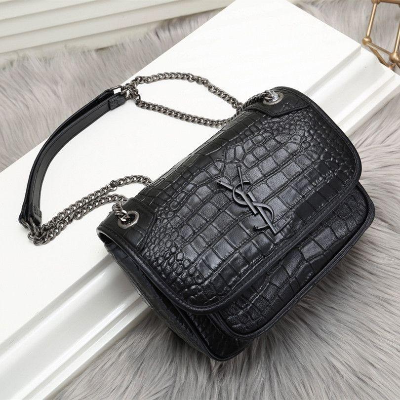 053e66581a01 Designer Bag Luxury Clutch Bag Classic Handbag Brand Name Chain Shoulder Bag  Classic Genuine Leather Fashion Lady Contains Logo Hobo Purses Leather Bags  For ...
