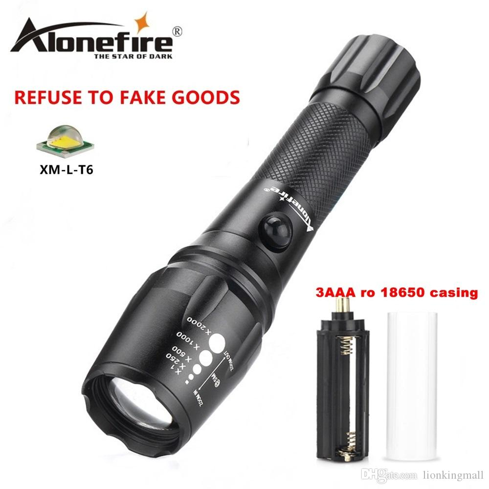Led Flashlights Lights & Lighting Camping Mini L2 Flashlight Most Powerful Flashlight Zoom Cree Xml T6 Portable Backpack Torch 18650 Or Aaa Lantern Lampe Torche Fast Color