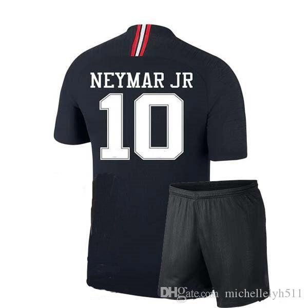 finest selection fc0bd 85030 Champion League PSG Kid s Football Kit 18 19 NEYMAR JR MBAPPE Soccer Jersey  Pants Thai Quality Boy s Outdoor Sport Training Sets Soccer Suit