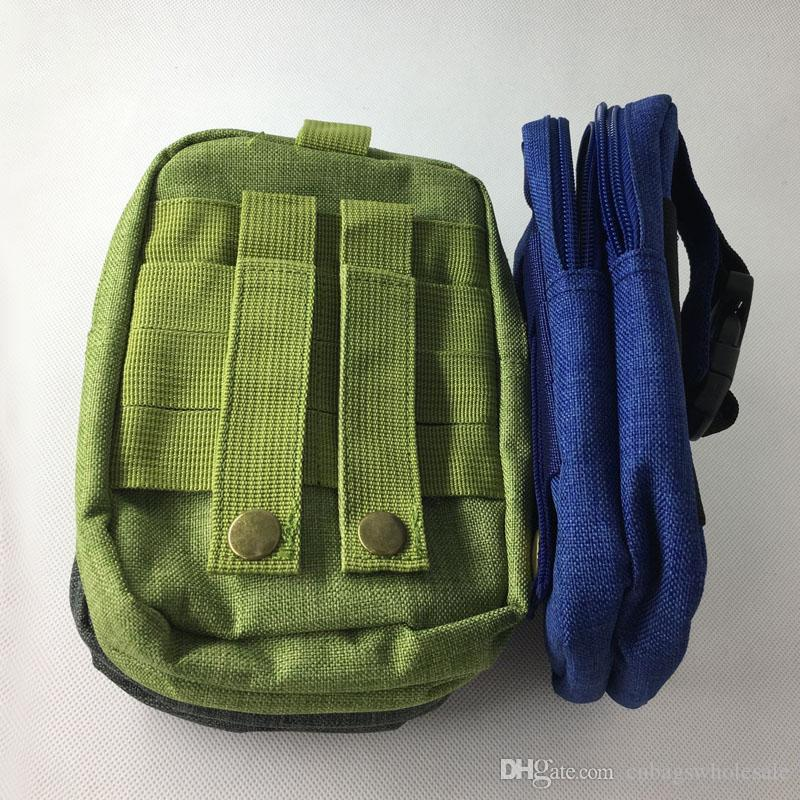 Outdoor gadgets, phone waist pouch bag man belt, backpack molle pocket EDC tools storage small bag