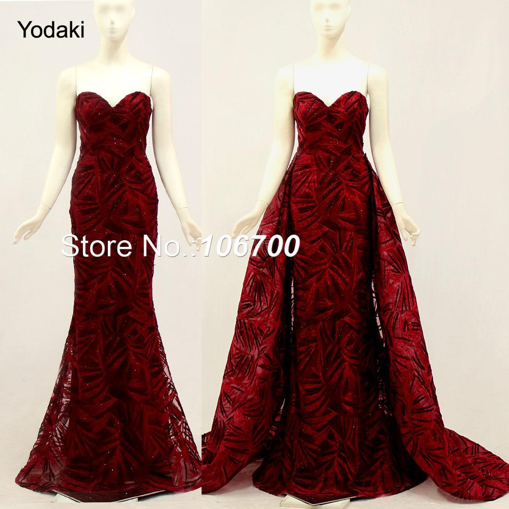 Bling Real Photos Detachable Tail Formal Evening Dresses Long Sleeves O  Neck Gold Color Pageant Prom Gowns 2018 New Arrival 923 Sexy Long Evening  Dresses ... 227e317e0385