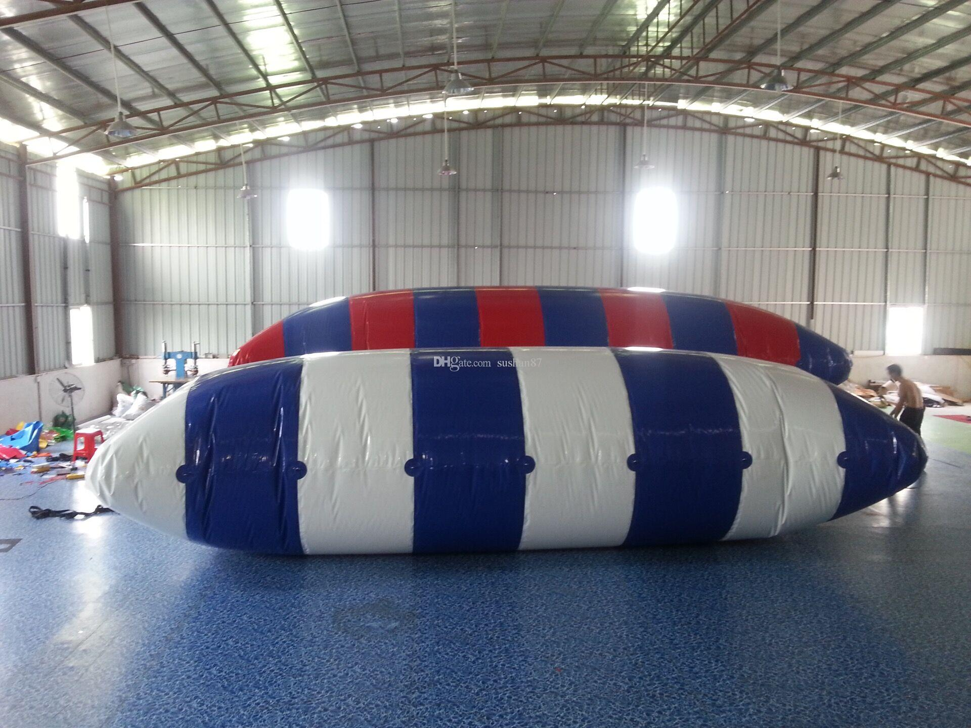 8*3M Bouncing Pillows Floating Beds Inflatable Jumping Pillow Water Blob