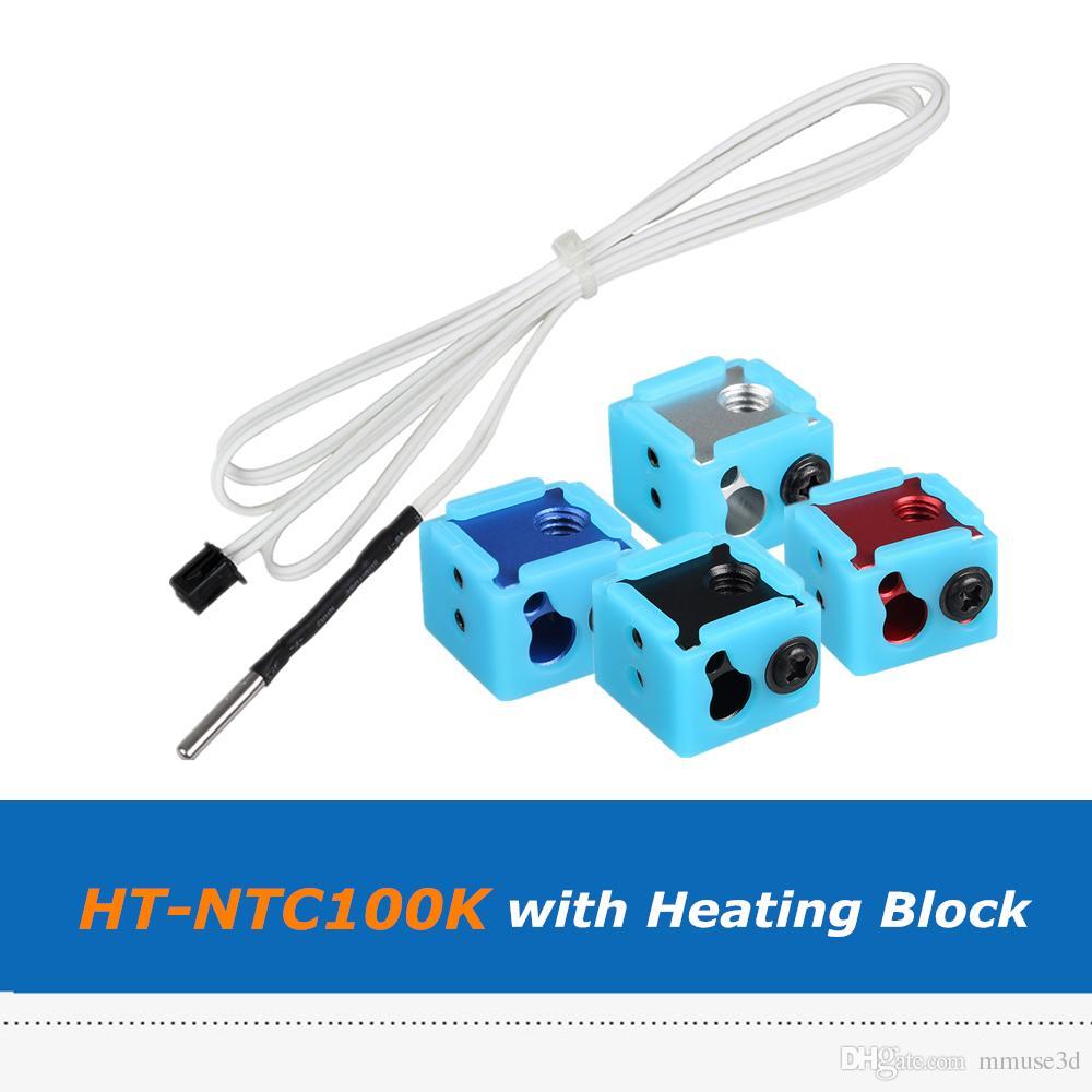 1m Ht Ntc100k Thermistor Temperature Sensor Cable + Bp6 Hotend ...