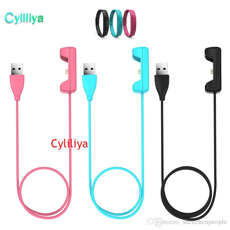 Newest 1m USB Charger Cable for Fitbit Flex 2 Smart Watch Bracelet Wristband Replacement Charger Cord