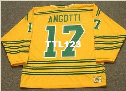 d834bd1759d 2019 Mens #17 LOU ANGOTTI Chicago Cougars 1974 WHA Retro Hockey Jersey Or Custom  Any Name Or Number Retro Jersey From Ttl123, $20.11 | DHgate.Com