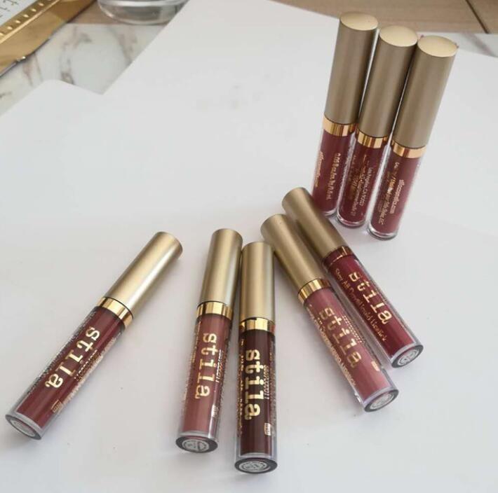 Brand Stila Star Studded Liquid Lipstick Lipgloss Set Stay All Days Long Lasting Creamy Shimmer Liquid Lip Gloss Stila lipstick