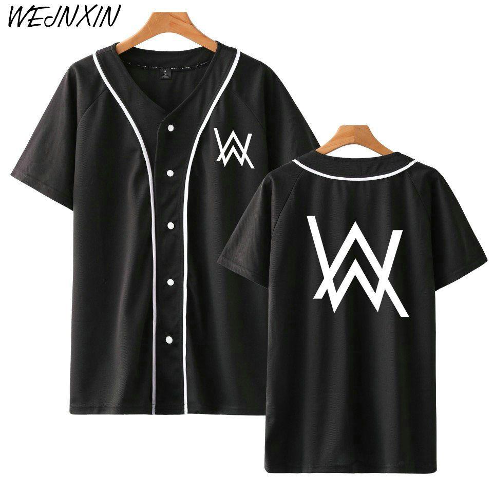 Da Nuovo Acquista Wejnxin Arrivo Baseball Manica Camicia Corta zMLUpGSVq