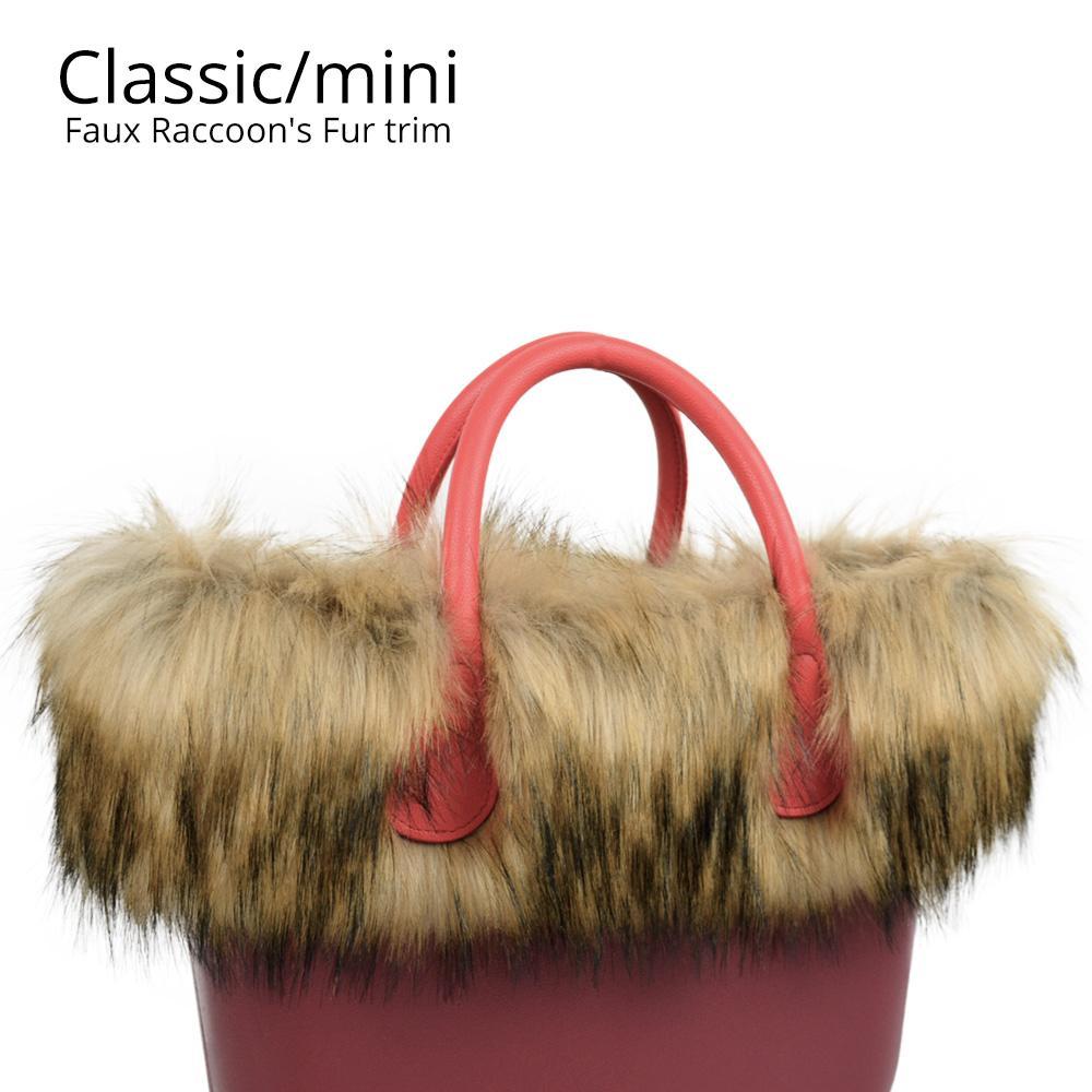 New Trim Faux Raccoon s Fur Plush for O BAG Thermal Plush Decoration ... 77dab34ba810f