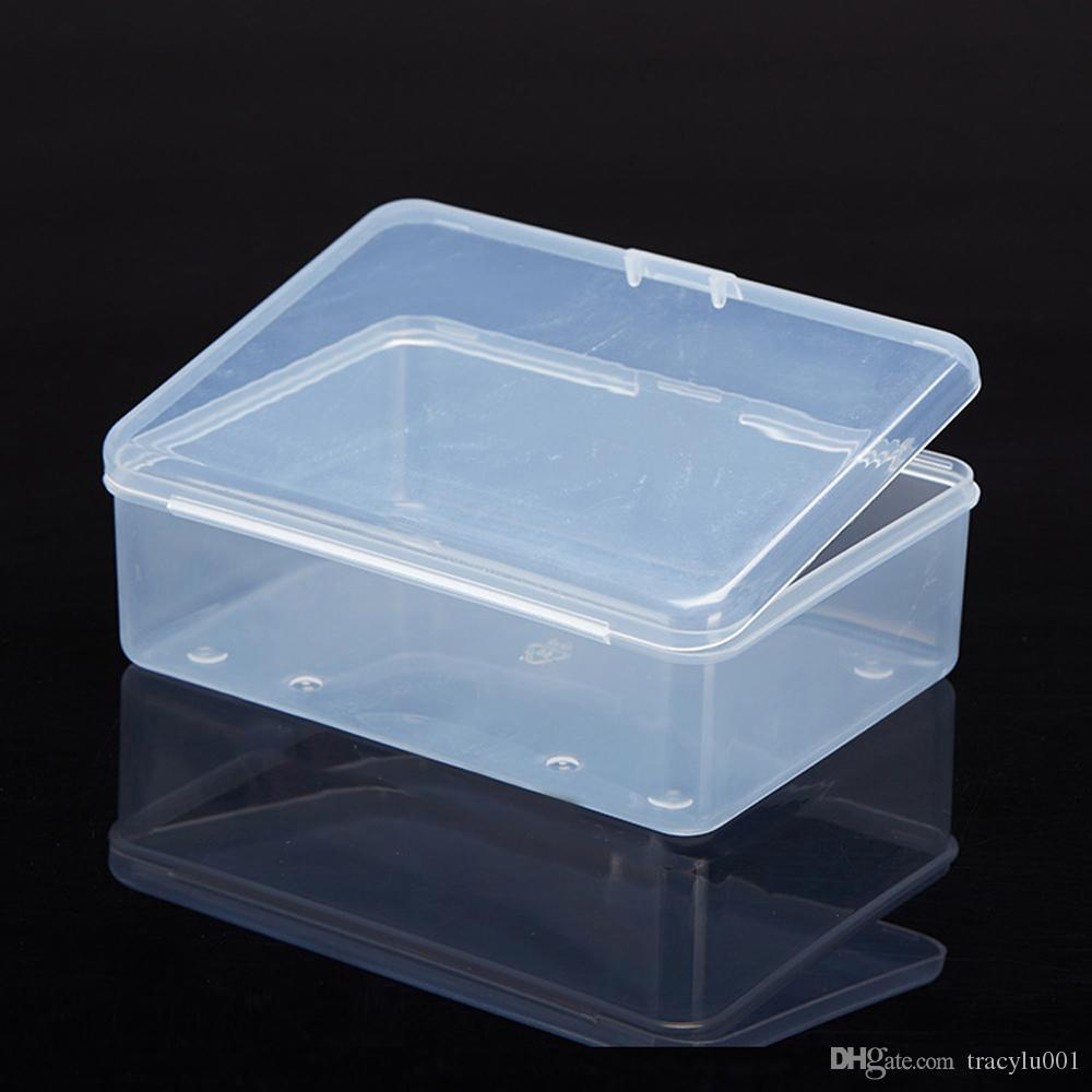2019 Top Selling Transparent Plastic Storage Box Clear Square